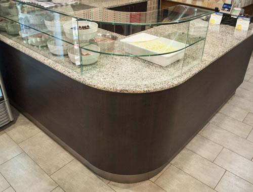 bancone pizzeria