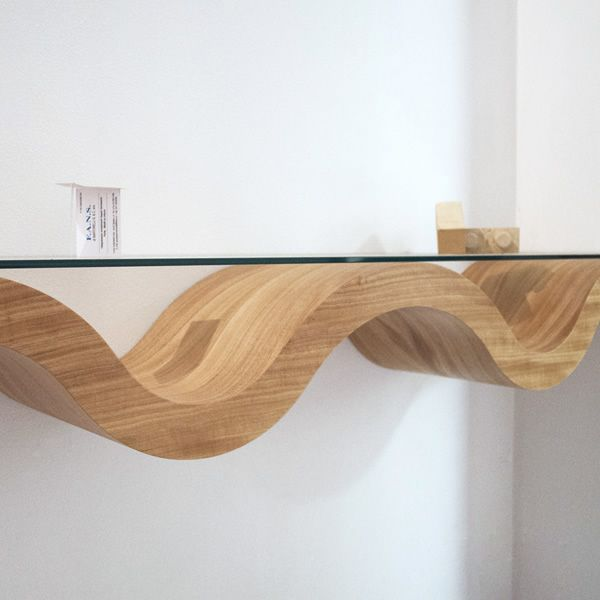 Mensola in legno Honda